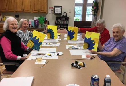 YALR - Resident Painting Party #3