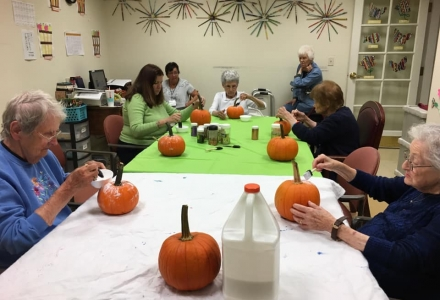 YALR - Resident Pumpkin Decorating Party